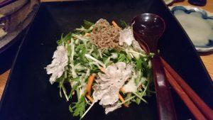 橙家 料理 サラダ