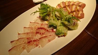 恵比寿バー 料理