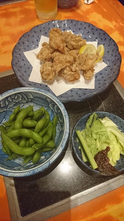 ボーリング 打上げ 料理4