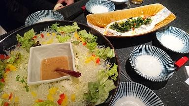 20170225 香季庵 料理1